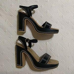 Something else by Sketchers Black platform sandals